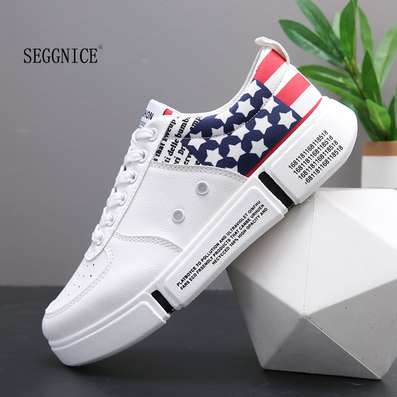 Design brand Men Casual Shoes Hot sale New Fashion Spring Autumn Breathable Black White
