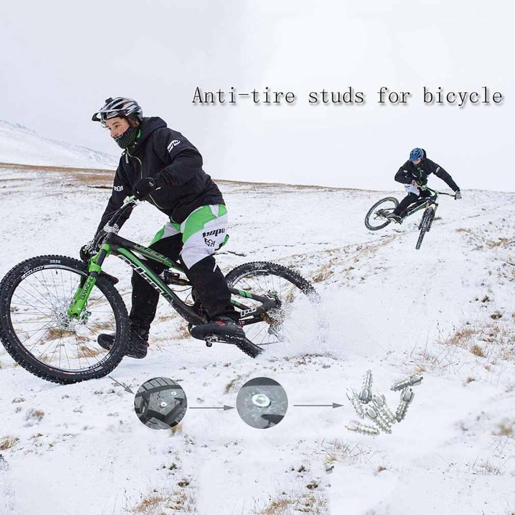 100 stücke Winter Rad Lugs Auto Reifen Bolzen Schraube Schnee Spikes Rad Reifen Schnee Ketten Nieten Für Schuhe Auto Motorrad reifen