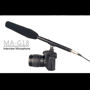 Image 2 - BUB G18 Interview Microphone Filming DV Recording Electret Condenser Microphone 7m Wired Metal Microphones