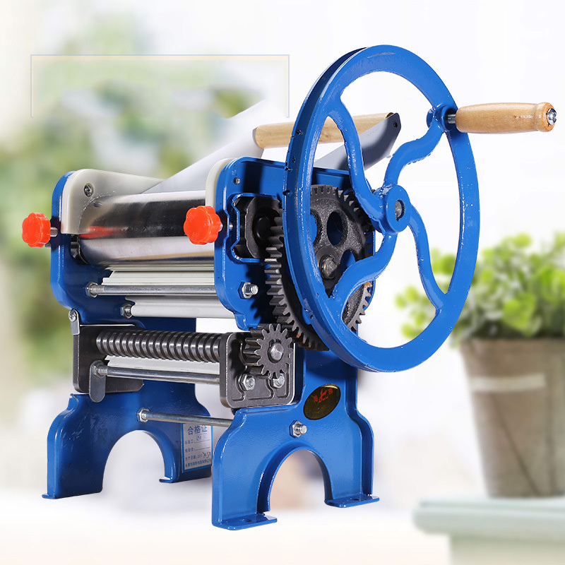 Hand Double faced Rolling Machine Home Manual Pressing Machine Small Multi function Pasta Machine|Food Processors| |  -
