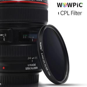 Image 2 - WOWPIC 67 มม.X PRO CPLกรองPL CIR Polarizing Multi CoatingสำหรับDSLR 67 Mmสำหรับเลนส์Nikon Canon pentax Sony DSLRกล้อง