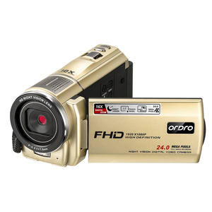 Video Camera Full HD Cheap Home Camcorder for YouTube Vlog Ordro F7 1080P 16X Digital Zoom Filmadora