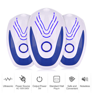 Image 3 - 2/4/6 pcs Ultrasonic Mice Repeller Electronic Ultrasound Mouse Rejector Anti Mosquito Repellent Cockroach Bug Pest Rat Rejection