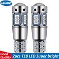 ASLENT высокое качество T10 W5W 168 192 светодиодные задние светильник 3030 10smd 12V для автомобильных светодиодных фар для авто лампы CANBUS Нет Ошибка авто...