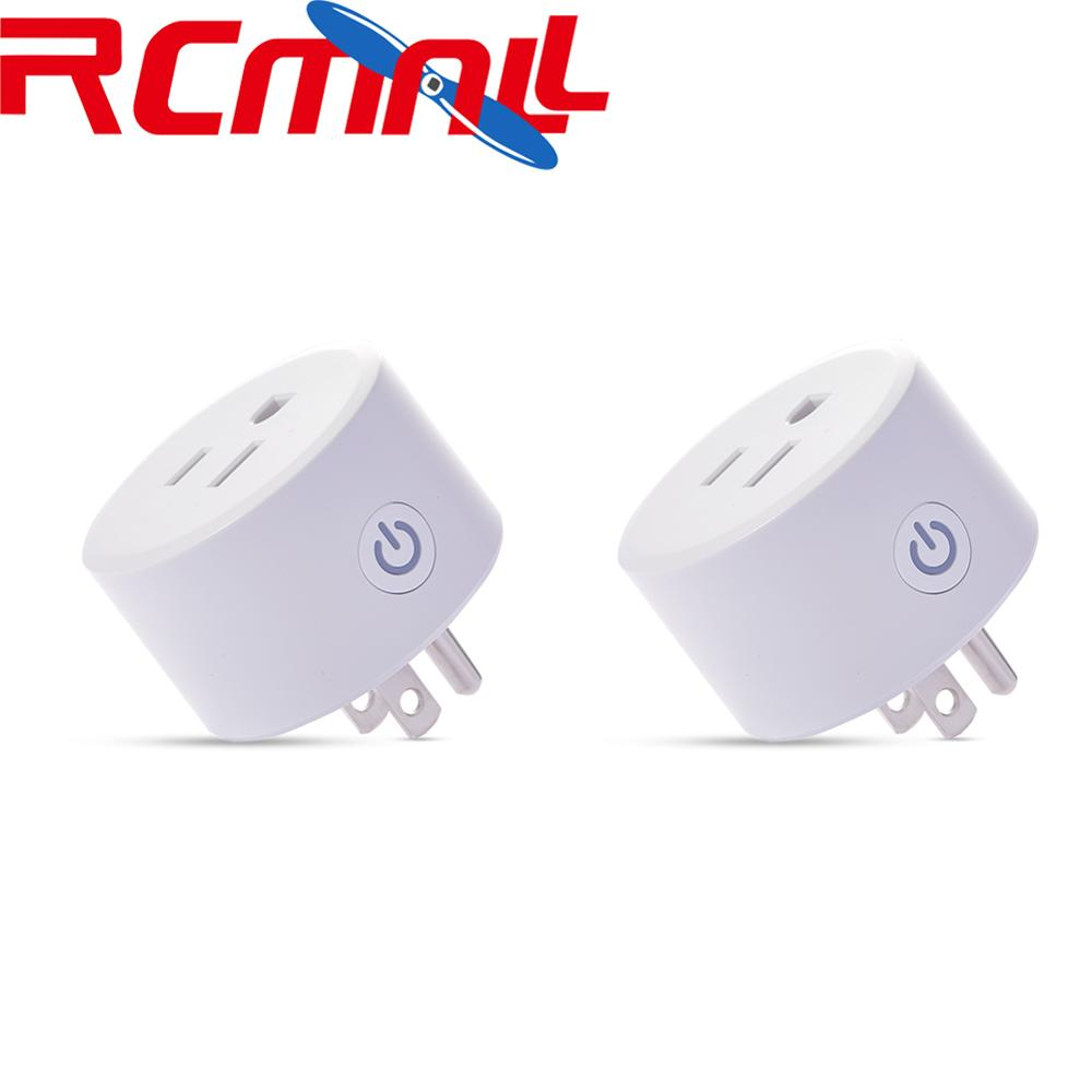 2Pcs Smart Wifi Plug Compatible With Apple Homekit Socket Outlet Switch Dohome APP Alexa/Google Assistant Timer Voice Control
