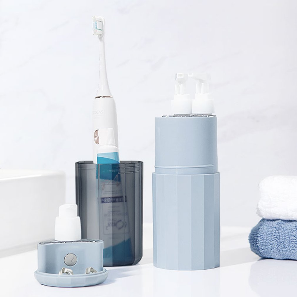 Travel Toothbrush Toothpaste Holder Storage Case Box Organizer Household Storage Cup Outdoor Holder Bathroom Accessories