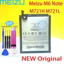 Meizu BA721 Battery For Meizu Note 6 M6 M721H M721L Phone 100% Original 4000mAh Battery+Tracking Number