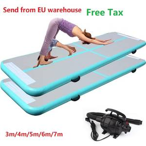 Inflatable Track Gymnastics Mattress Inflatable Track Olympic Gym Tumble Airtrack Tumbling wrestling  Yoga mat 4m/5m/6m/7m/
