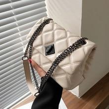 2021 Fashion Shoulder Bag Women Travel Bags Leather Pu Quilted Bag Female Luxury Handbags Women Bags Designer Sac A Main Femme