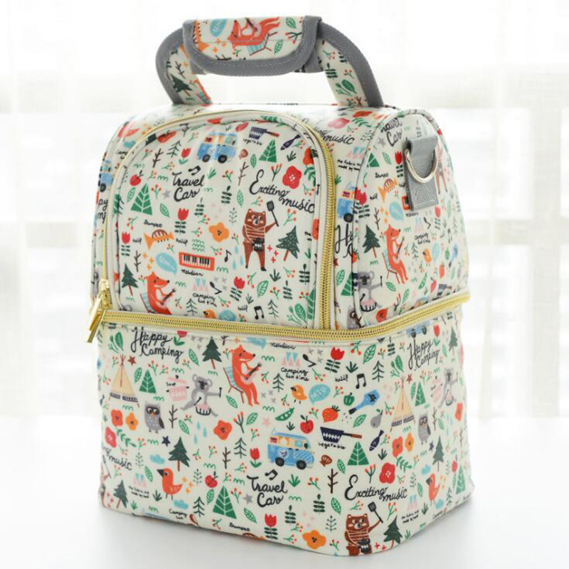 Maternity Bags Baby Food Storage Mummy Bags Insulation Backpack Milk Preservation Carrying Large Capacity Waterproof Bag BNM006