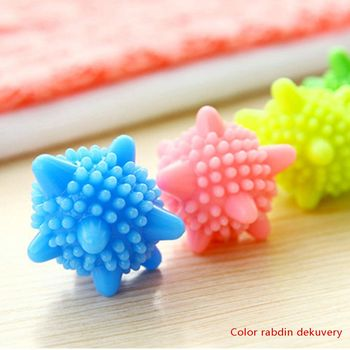 Reusable Magic Laundry Ball For Household Cleaning Washing Machine Clothes Softener Starfish Shape Solid Cleaning Balls image