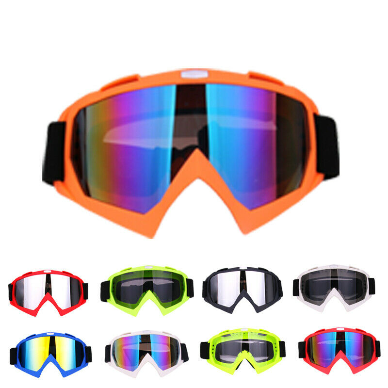 12 Types Unisex Women Men Motocross Motorcycle Goggles Off Road ATV Dirt Bike Anti-UV Glasses Race Goggles Party Favors