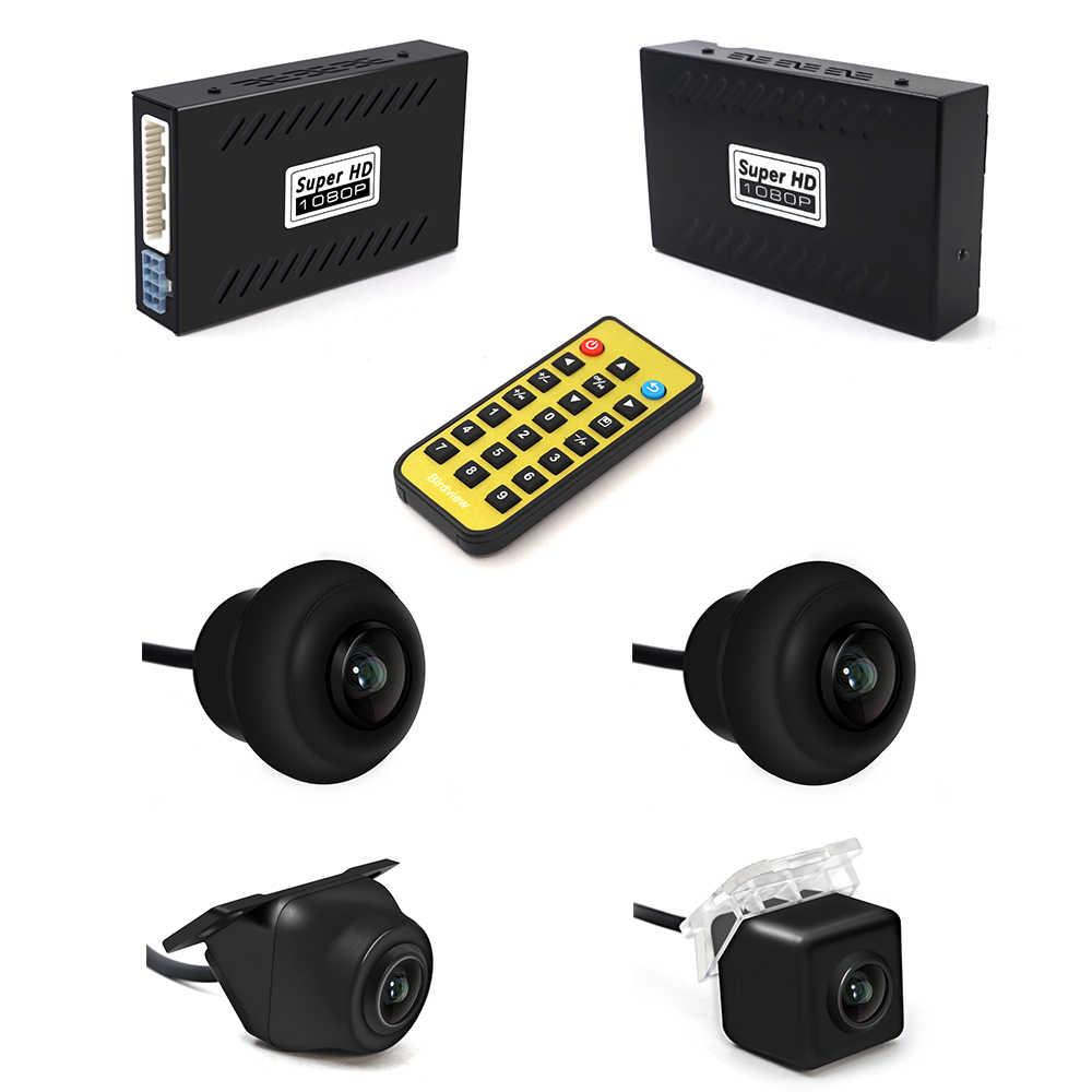 Universal Car 4 Camera 360 stopni Surround View kamera cofania widok ptaka panoramiczny System 2D DVR HD 1080P kamera samochodowa