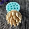 QT0163 мини-рожка для мыла  силиконовая форма для ручной работы  формы для мыла в форме свечи  силиконовая форма для полимерной глины