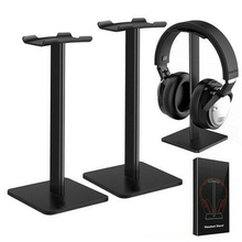 Universal Supporting Bar Headphone Stand Aluminum Alloy Headset Holder Hanger Rack Headphone Desktop Display Stand Holder universal headphone hanger pc monitor desk headset stand holder hook black
