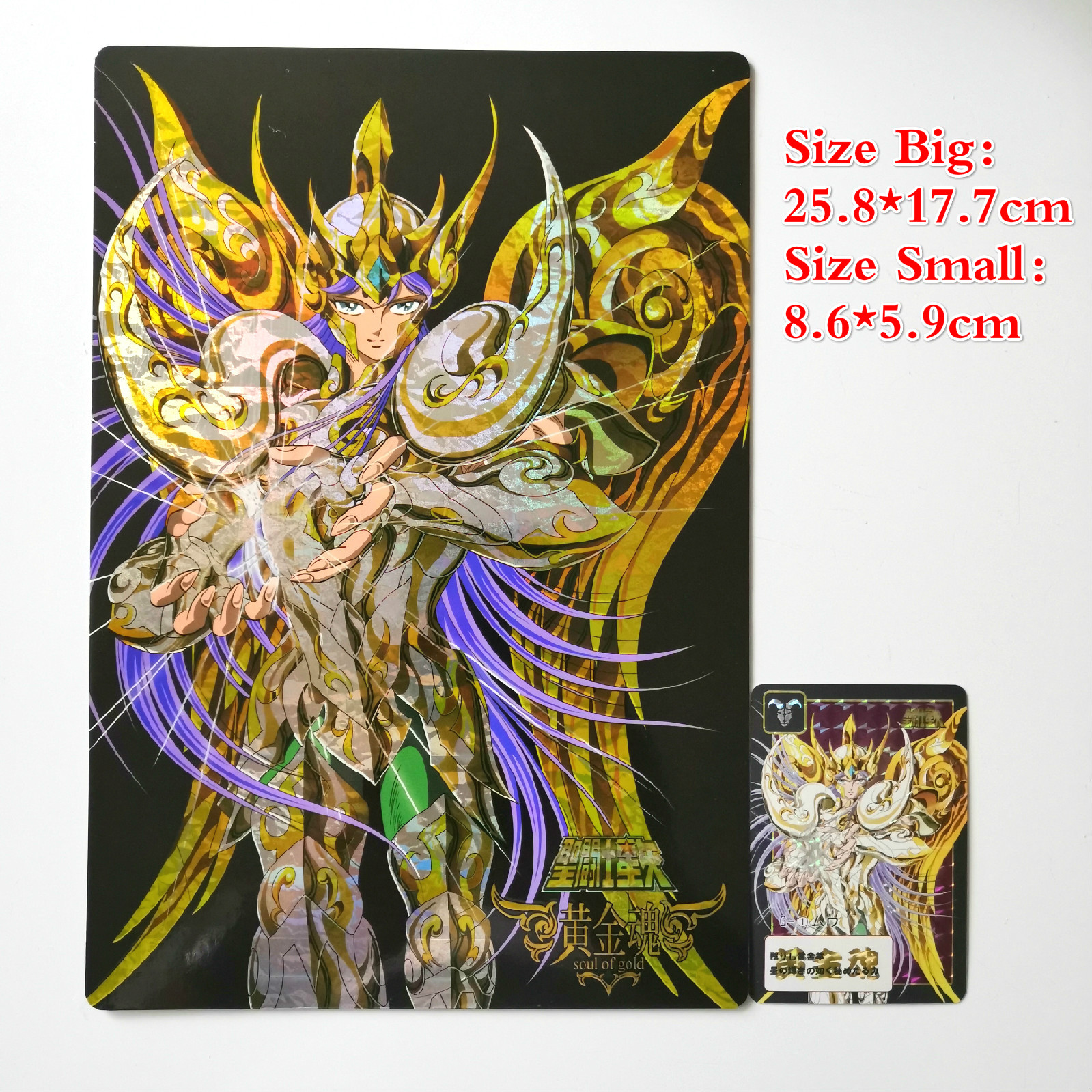 12pcs/set Saint Seiya 25.8*17.7cm Toys Hobbies Hobby Collectibles Game Collection Anime Cards