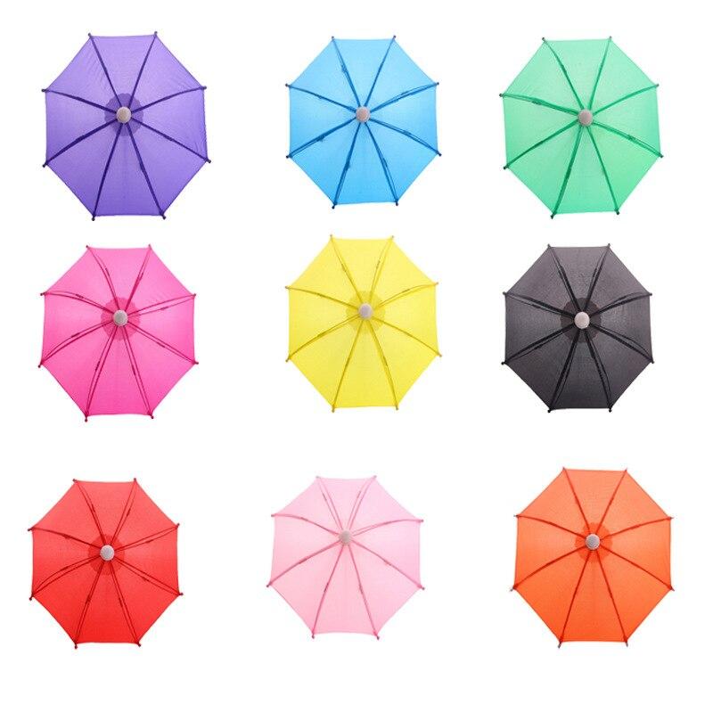 New Style BJD 1/3 1/4 Mini Umbrella Rain Gear for 18 Inch Baby Doll Life Journey Dolls Accessory Birthday Gift for Children Kids