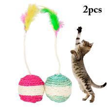 Cat Play Wand Spring Toys Cat-Accessories Gatos Kitten Rabbit Cute Fashion Para Bell