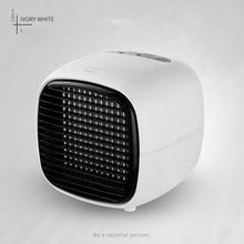 цена на Portable Mini Fan USB Humidifier Air Conditioner Desktop Bedroom Home Office Cooler