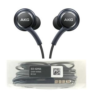 Image 4 - 갤럭시 s8 s9/s8 플러스에 대 한 소매 패키지와 10 개/몫 EO IG955 이어폰 s8 s9 이어폰 마이크 3.5mm 인 이어 스테레오 이어폰