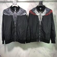 Marcelo Burlon Jacket Men Women Streetwear Windbreaker Jackets Coats Bomber Vetements MB