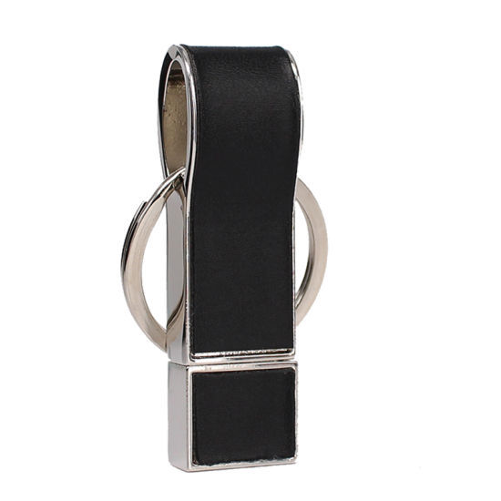 Кожаный чехол USB флэш-накопитель Топ Класс бизнес-подарок USB привод металлический u-диск свисток U диск брелок для ключей USB диск