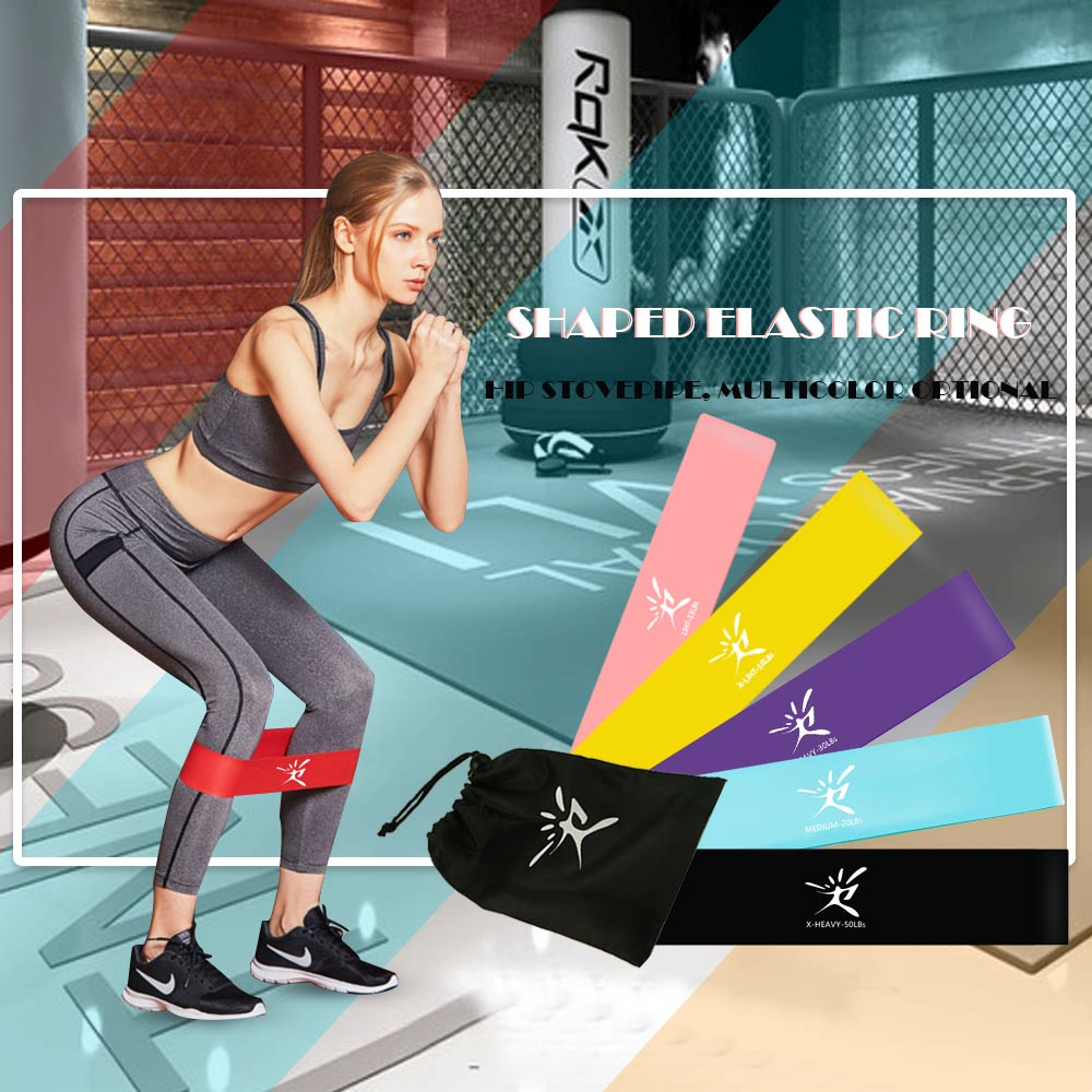 New Fitness Gym Resistance Bands Fitness Equipment Workout Elastic Bands For Fitness Training Fitness Band Booty Builder Gum