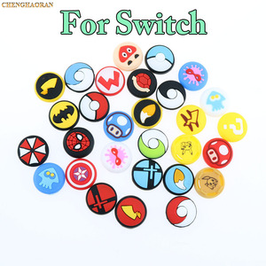 Image 2 - Mix 35colors Silicone Analog Thumb Stick Grips Caps for Nintend Switch NS JoyCon Controller Sticks Cap Skin Joy Con Cover