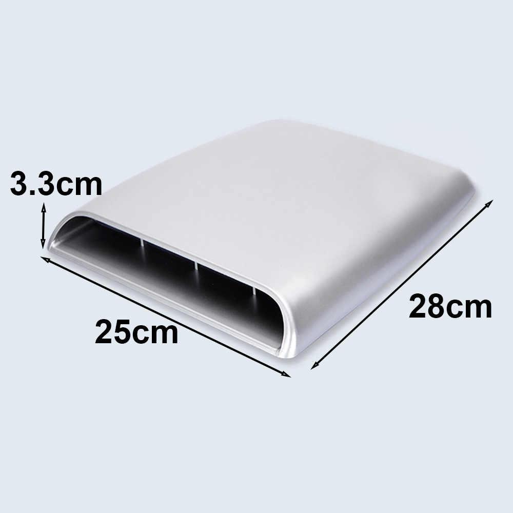 28x25x3,3 см вентиляционное отверстие крышка серебряные аксессуары части 1 шт Декоративные