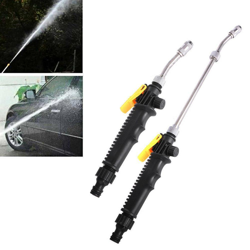 Car High Pressure Power Washer Hose Water Nozzle Car Wash Water Watering Sprinkler Jet Cleaning Spray Garden Tool
