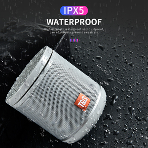 Image 4 - Nieuwe Draagbare Bluetooth Speaker & Telefoon Houder Mini Subwoofer Stof Draadloze Outdoor Parlante 6 Kleuren Ondersteuning Tf kaart USD Schijf