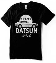 Jdm datsun 240z camiseta japonês clássico old school t fairlady 260z 280z carros nissan japão unissex-tamanhos femininos-mão
