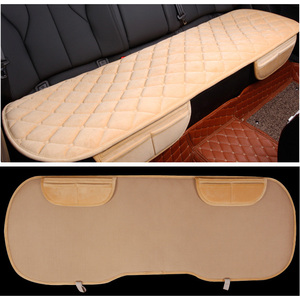 Image 5 - Assento de carro covas protetor esteira auto almofada do assento traseiro caber a maioria dos veículos antiderrapante manter quente inverno veludo de pelúcia volta almofada do assento