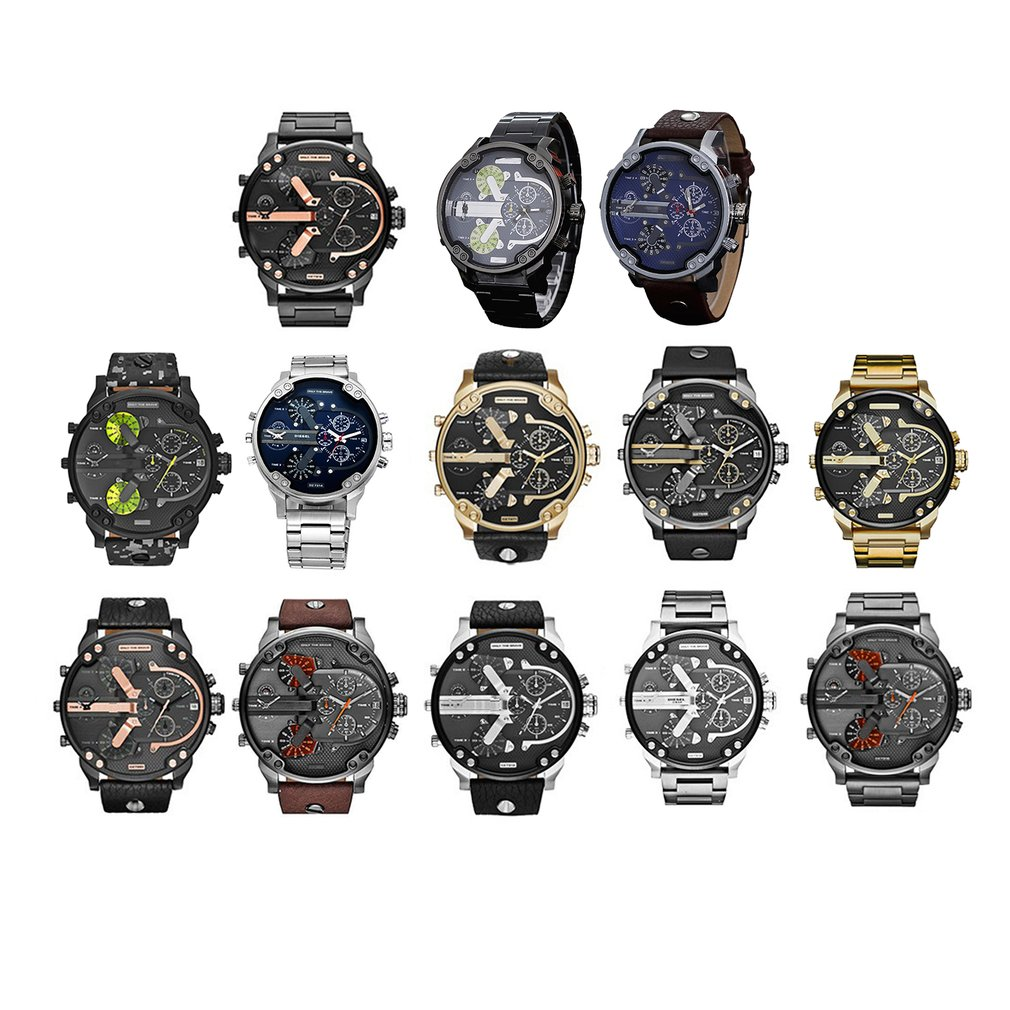 Men's Watches Stainless Steel Analog Quartz Wrist Watch Bracelet Men Watches Automatic Mechanical Clock