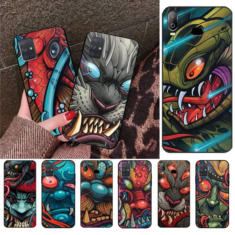Japanese Tattoo Art Graffiti Luxury Phone Cover For Samsung Galaxy A01 A11 A31 A81 A10 A20 A30 A40 A50 A70 A80 A71 A91 A51