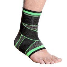 Supporto elastico per caviglia supporto per bretelle uomo donna palestra sport corsa pallacanestro caviglia fasciatura calcio Badminton protezione tallone