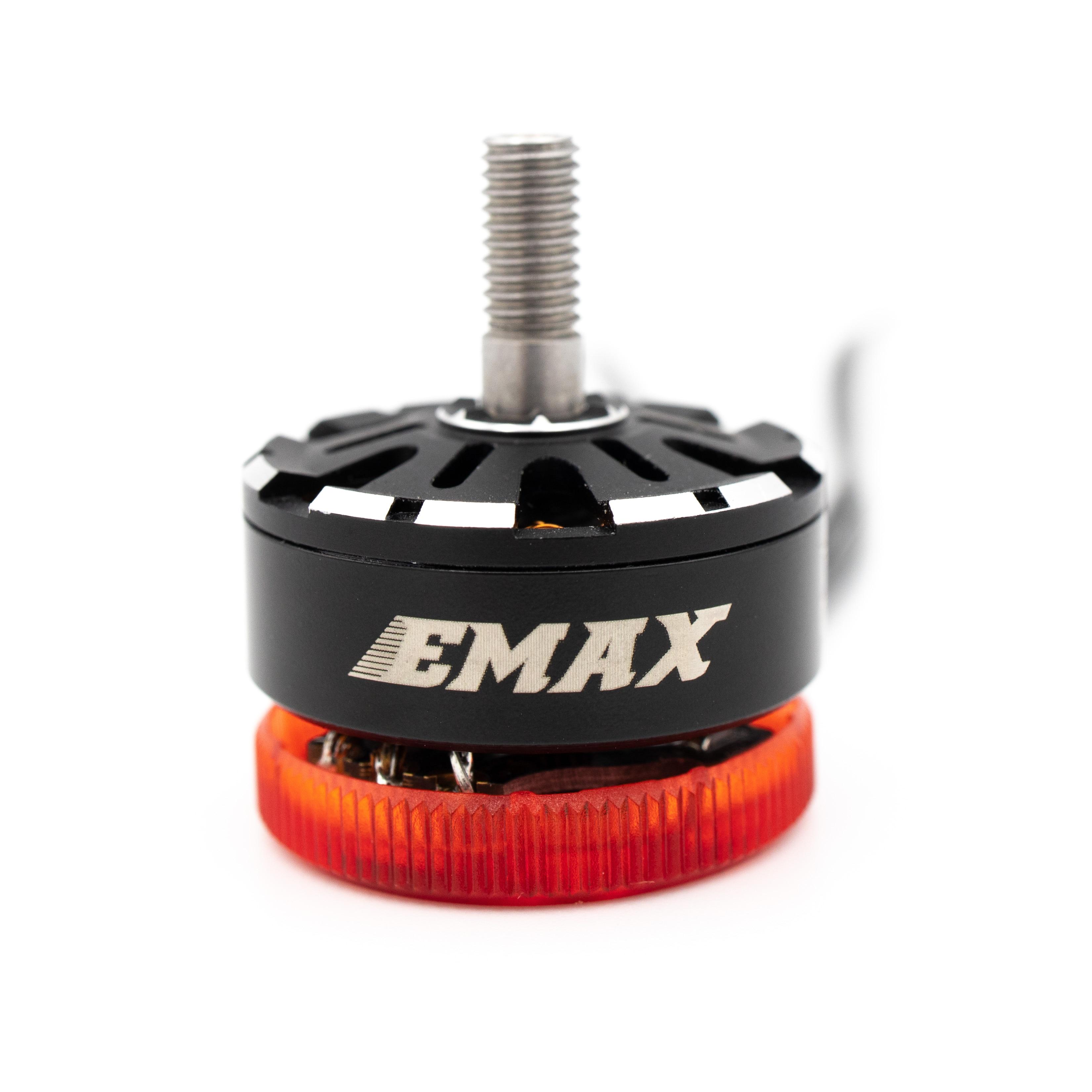 EMAX Pulsar 2306 LED Licht Bürstenlosen Motor 1700KV 2400KV 3 6S Transluzenten Motor Basis 5 zoll requisiten für hawk 5 Pro FPV Racing Drone