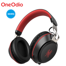 Oneodio Bluetooth Headphone With Microphone Sport Wireless Headset Bluetooth 5.0 Over Ear Stereo Bass Headphones Handsfree Calls