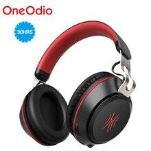 Oneodio auriculares, inalámbricos por Bluetooth 5,0, auriculares por encima de la oreja deportivos con micrófono, cascos estéreo con graves, manos libres y llamadas
