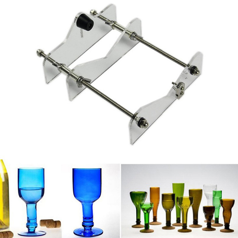 Glass Bottle Cutter DIY Make Tool Wine Bottle Cutting Tool For DIY Make Beautiful Personality Art Cup Precision Cutting
