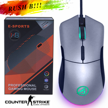Wired Gaming mouse Pro gamer 5000 DPI for FPS MOBA E-sport Gaming Mice Progaming PMW3325 Optical Sensor for PC Gaming CSGO PUBG