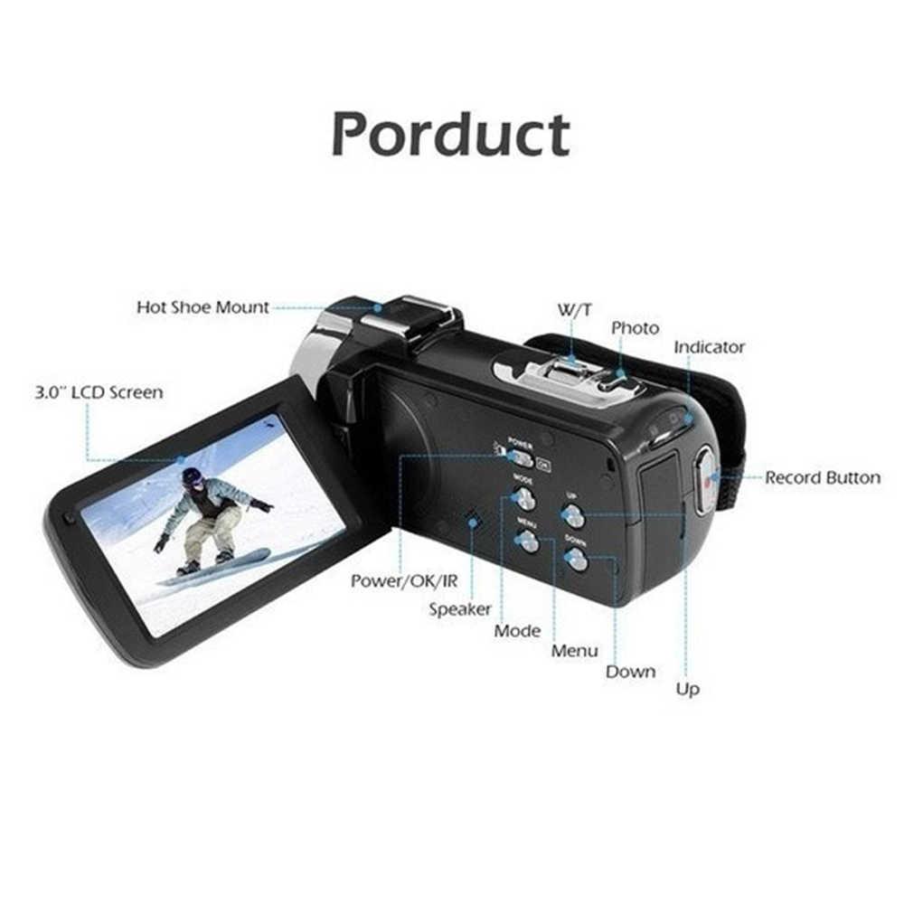Cewaal WIFI appareil Photo numérique Portable Vision nocturne caméscope numérique HDMI 4K Photo professionnel DSLR 2.7K caméra vidéo 16X