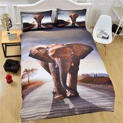 Animal High-definition Printed Textile Foreign Trade 3D Bedding Three-piece Set-Piece AliExpress Amazon Hot Sales Four-piece Set