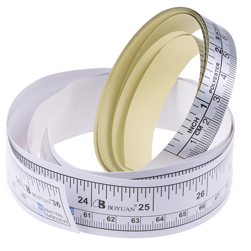1Pc 90/151cm Self Adhesive Metric Measure Tape Vinyl Ruler For Sewing Machine Sticke