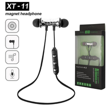 XT-11 Magnetic Bluetooth 4.2 Earphone Music Stereo Sports Waterproof E