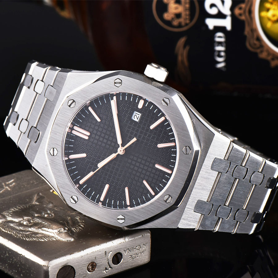 automatic mechanical watch watch men date Luminous waterproof 316L Solid stainless steel 41MM LM4