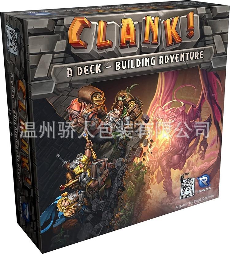2020 Dragon Cave Treasure Hunt Renegade Game Studios Clank! Explosive High-end Board Games