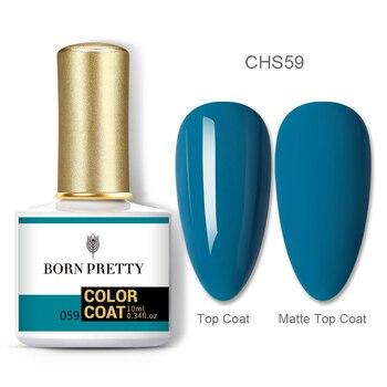BORN PRETTY Nail Gel 120Colors 10ml Gel Nail Polish Soak Off UV LED Gel Varnish Holographics Shining Nagel Kunst Gellack 136
