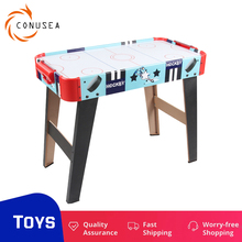 Mid-Size Air Hockey Game Table Includes 2 Pushers and 2 Air Hockey Pucks Board games Toys for Kids and Adults Office or Home