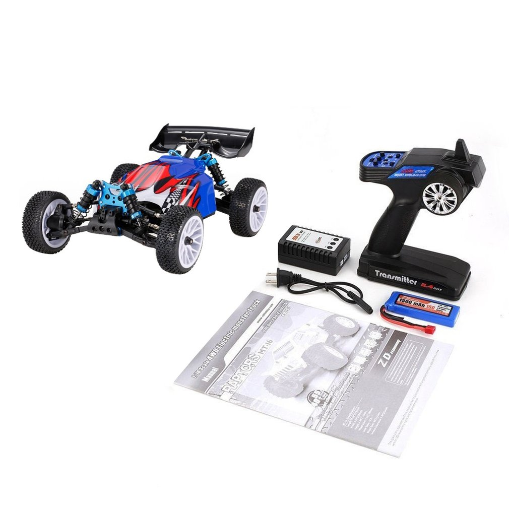 Racing RAPTORS BX-16 9051 1/16 2.4G 4WD Brushless Racing RC Car 55km/h Off-Road Crawler Buggy RTR Automatic Vehicle Toys  - buy with discount